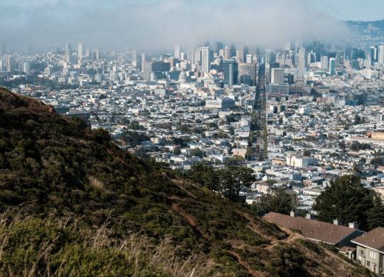 San Francisco vu des Twin Peaks
