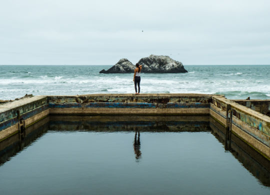 Alice aux Sutro Baths
