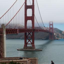 16 Juillet - Golden Gate Bridge et route vers Sea Ranch