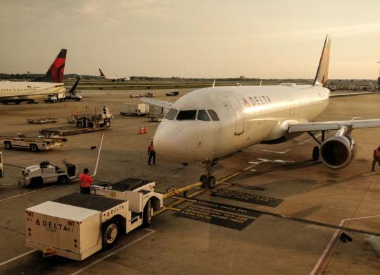 Notre vol pour San Francisco en préparation