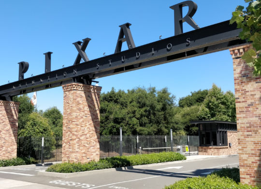 Pixar Studio a 2 minutes de notre Hôtel - Emeryville